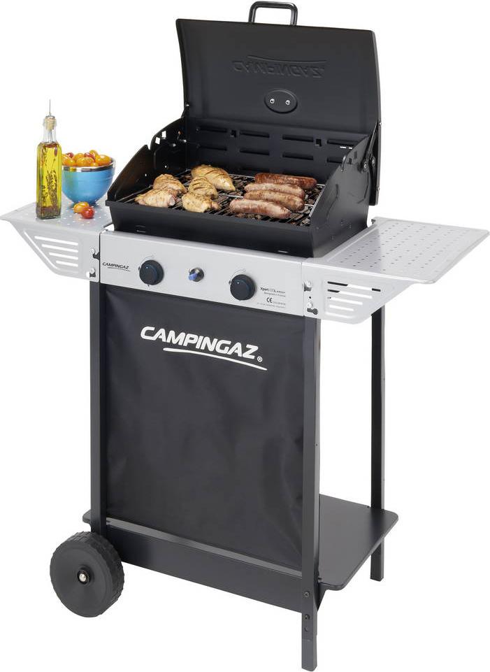 Campingaz barbecue a gas pietra lavica e griglia in - Barbecue da esterno a gas ...