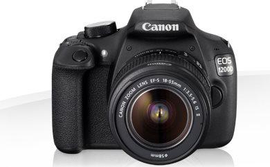 Canon Fotocamera digitale 18 Mpx EOS 1200D + 1855 DC + EF 50MM 1:1.8 II 9127B051