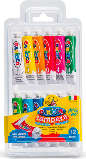 Carioca KO116 Tempera Multi 12 ml Tubo