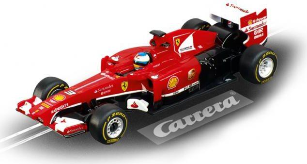 Pista auto Elettrica da Corsa per Bambini 6+ Anni Pista + 2 Macchine  Ferrari + 2 Telecomandi - GO!!! Red Victory - 20062339