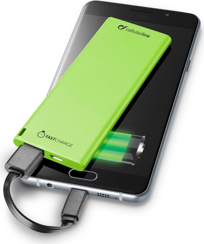 Cellular Line Caricabatterie portatile 3000 mAh Batteria