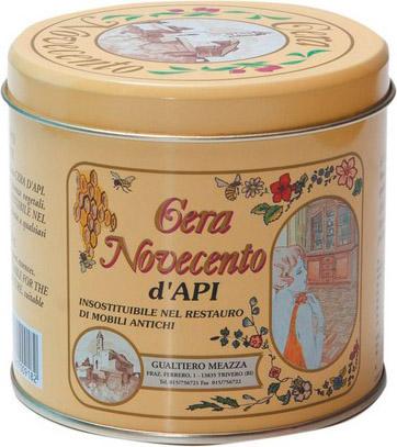 Cera Novecento Cera D\'api colorata per legno Colore Noce Chiaro 500 ...
