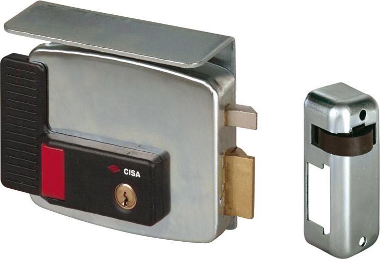 CISA Serratura Elettrica Porta Cilindro Interno Entrata 70 mm Dx+3 Ch. 11731701