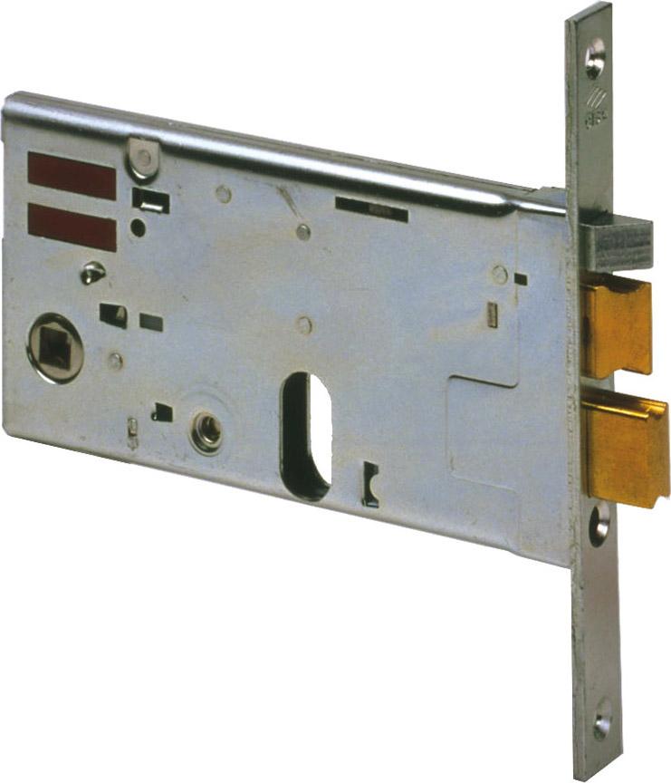 CISA Serratura Elettrica Porta da Infilare 20 mm 2 Mandate 70 mm 14461700