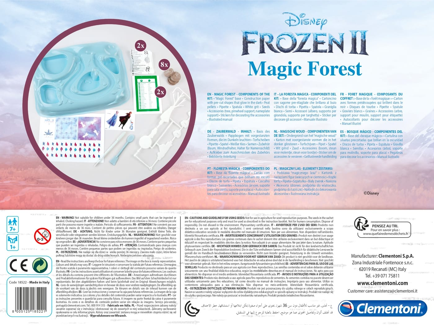 Clementoni 18522 Frozen 2 The Magic Forest