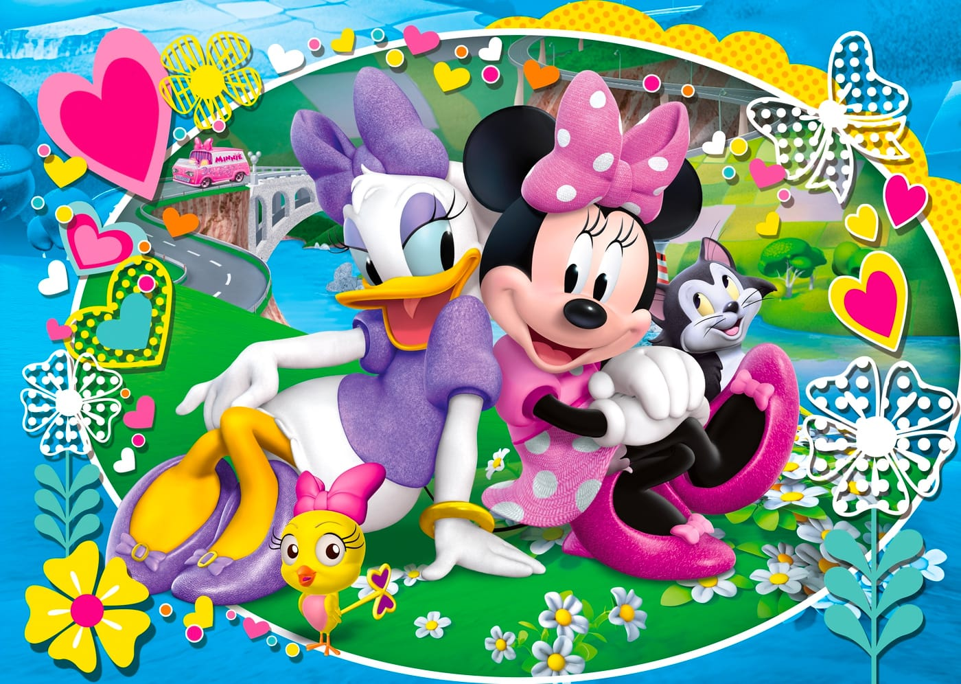 Clementoni 23708 Puzzle Minnie Happy Helperer