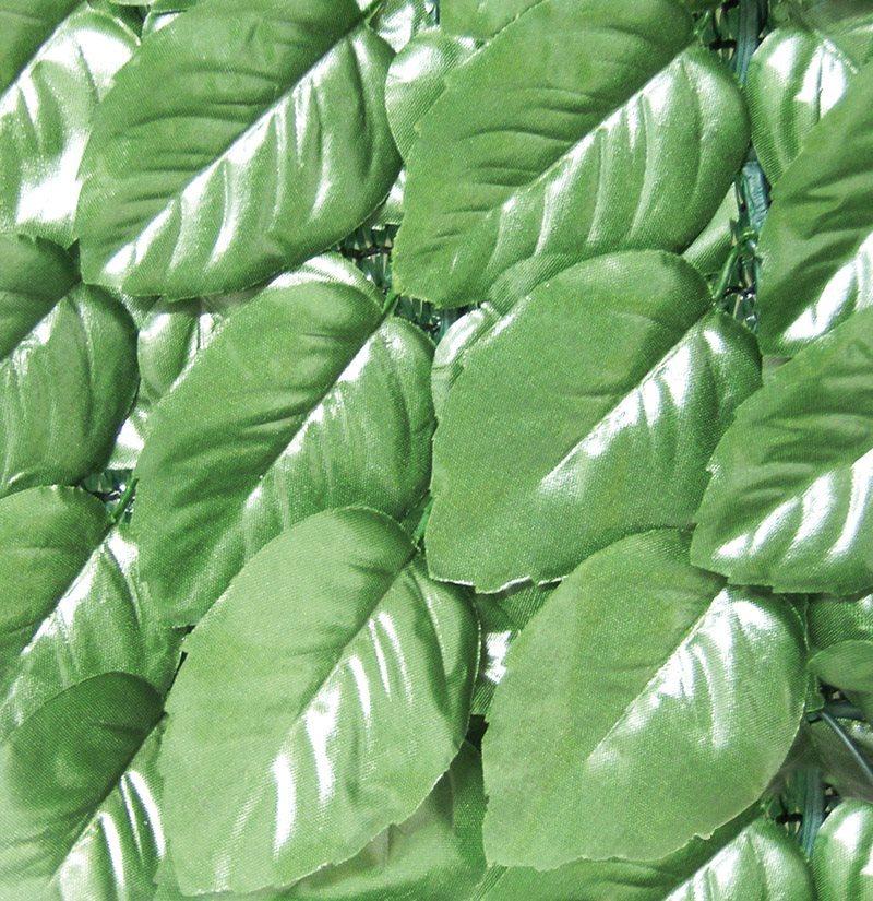 Siepe artificiale sempreverde confine siepe lauro mt 1x20 for Siepe artificiale brico