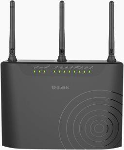 D-Link Router Wi-Fi Dual-Band ADSLVDSL 4 porte LAN 10, 100 Mbits DSL-3682