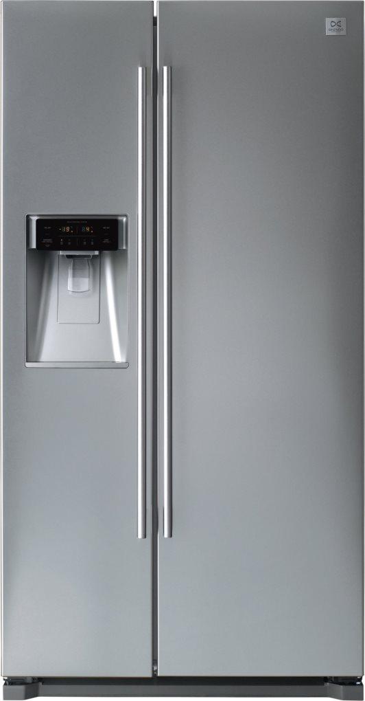 Frigorifero Americano Side by Side Capacità 564 Litri Classe energetica A+  Raffreddamento Total No Frost 3D Cooling / Dispenser Acqua colore Silver -  ...