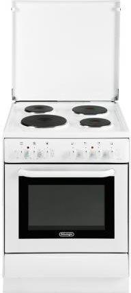 De longhi cucina elettrica 4 fuochi piastre forno elettrico con grill larghezza x profondit - Cucina elettrica de longhi ...