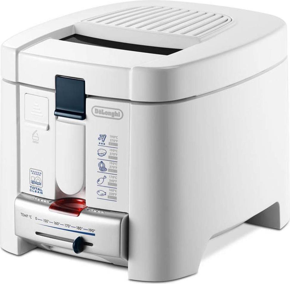 de longhi friggitrice elettrica capacit 1 2 litri potenza
