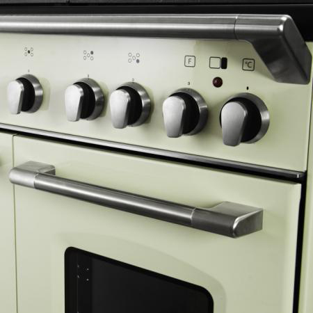 de longhi cucina a gas 5 fuochi forno elettrico multifunzione ... - Cucina A Gas Con Forno Elettrico Ventilato