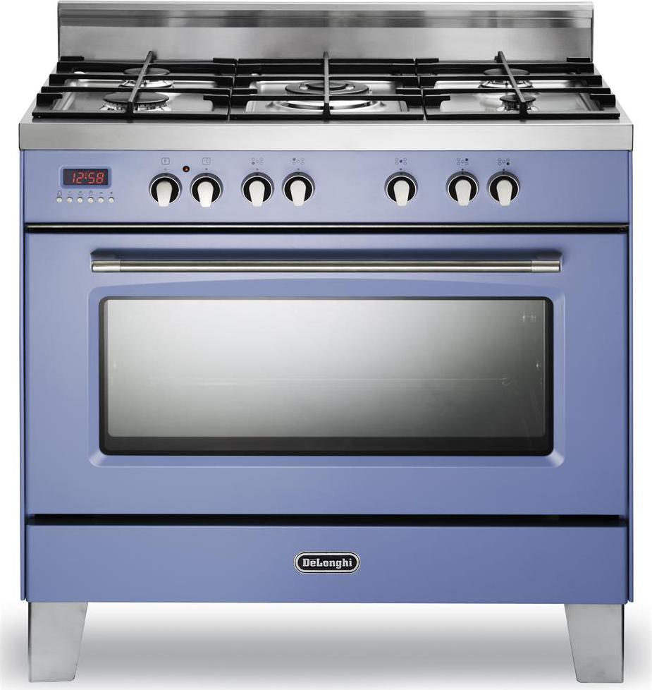 Cucina a gas de longhi mem 965 acx forno elettrico ventilato 90x60 prezzoforte 74834 - Cucina elettrica de longhi ...