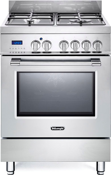 Cucina a gas de longhi pro66mx forno elettrico ventilato 60x60 prezzoforte 122811 - Cucina elettrica de longhi ...