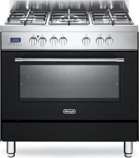 De longhi cucina a gas 5 fuochi forno elettrico multifunzione ventilato con grill larghezza x - Cucina con forno a gas ventilato ...