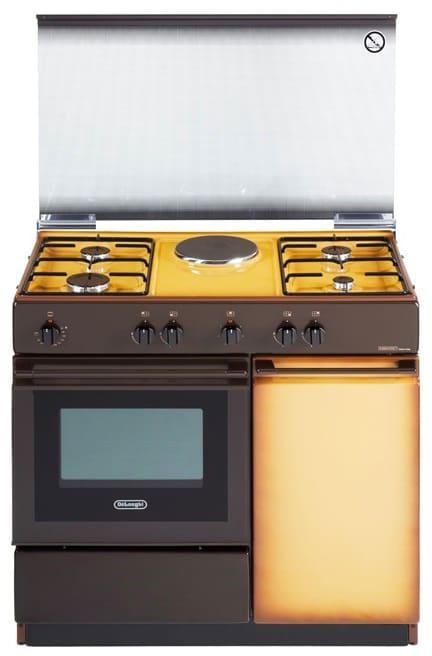 Cucina A Gas De Longhi Sek 8541 N Forno Elettrico 86X50 ...