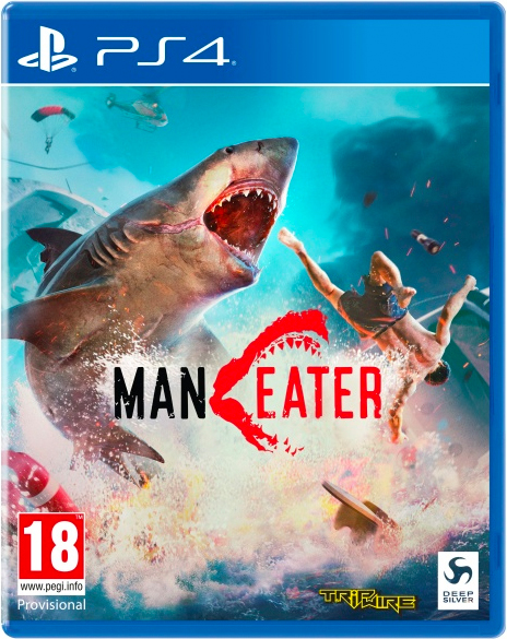 Deep Silver 1040387 Maneater Videogioco PS4