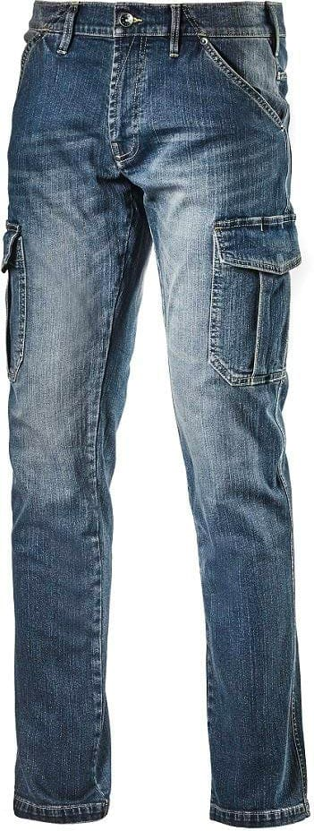Diadora Pantalone da Lavoro Multitasche Jeans Taglia 48 - 172115-C6207 Cargo  Denim 4898c5c9b27