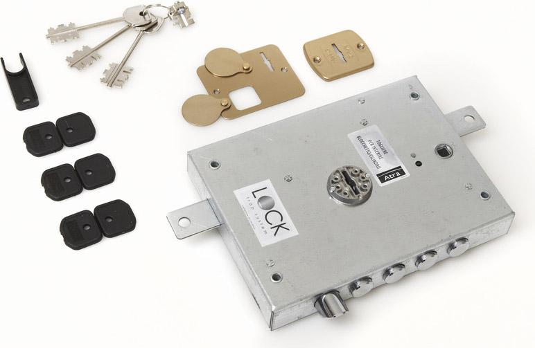 Dierre serratura porta blindata doppia mappa da applicare - Doppia serratura porta blindata ...