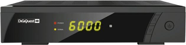 Digiquest Decoder Digitale Satellitare HD Timeshift PVR USB Scart 8010HD RICD1186