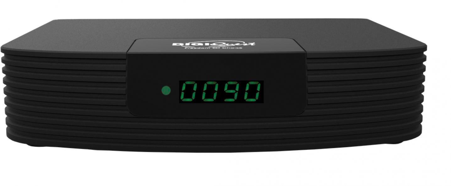 Digiquest RICD1205 Decoder Digitale Terrestre DVB-T2 Full HD HDMI Scart Nero DGQ990 HD