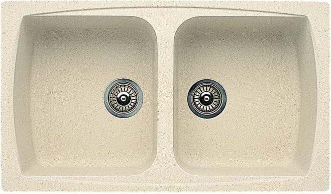 Lavello cucina elleci lavello fragranite avena lgl45051nna 68281 - Lavello cucina avena ...