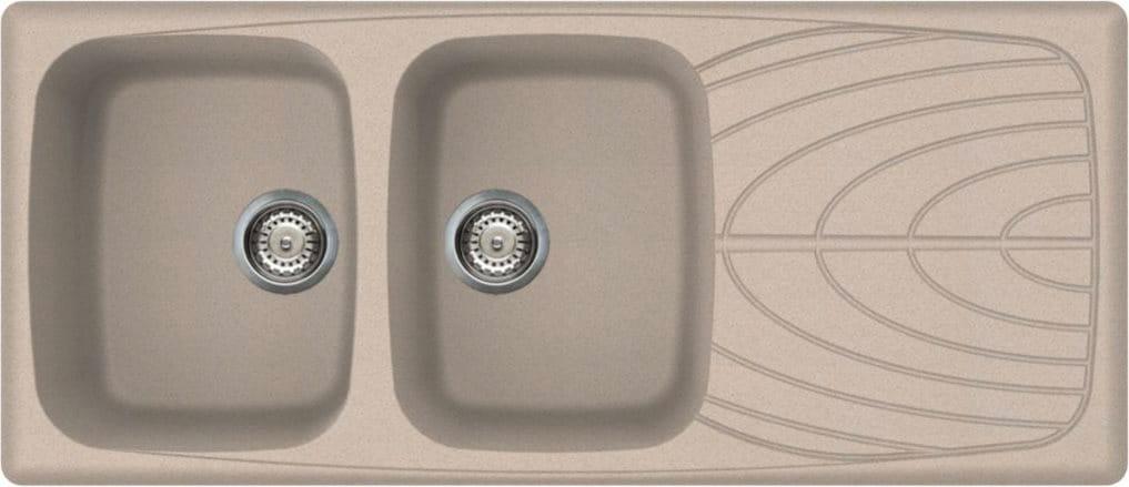 Lavello cucina elleci lavello fragranite avena lgm50051 - Lavello cucina avena ...