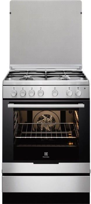 electrolux cucina a gas 4 fuochi forno elettrico ventilato con ... - Cucina A Gas Con Forno Elettrico Ventilato