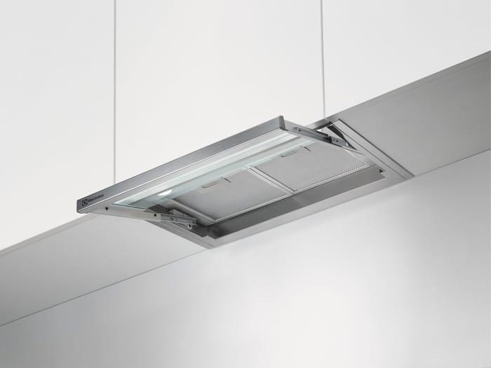 Electrolux cappa cucina filtrante sottopensile da incasso larghezza 60 cm con frontalino in - Cappa cucina 60 cm ...
