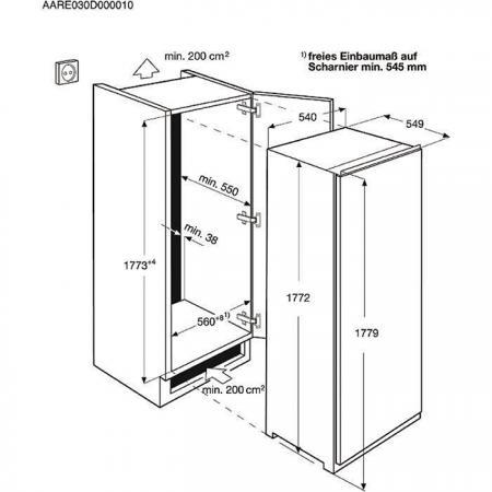 frigorifero da incasso electrolux rex fi3302dv frigo monoporta in offerta su prezzoforte 72049. Black Bedroom Furniture Sets. Home Design Ideas