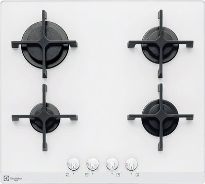 Piano Cottura Electrolux Gas 4 Fuochi 60 cm PVB641OV Serie Quadro ...
