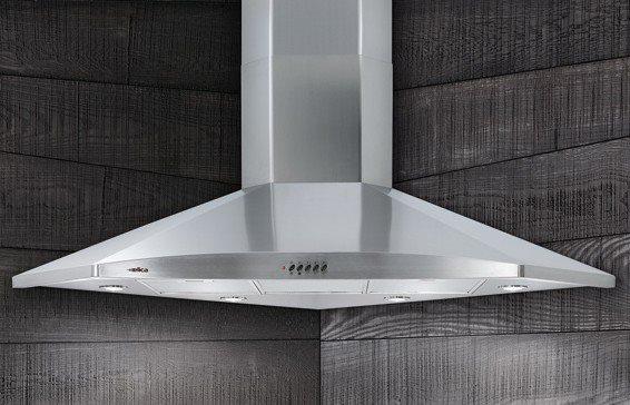 Cappa elica hydra ang ix f 100 1608046 1 cappa cucina filtrante ad angolo in offerta su - Cappa filtrante cucina ...