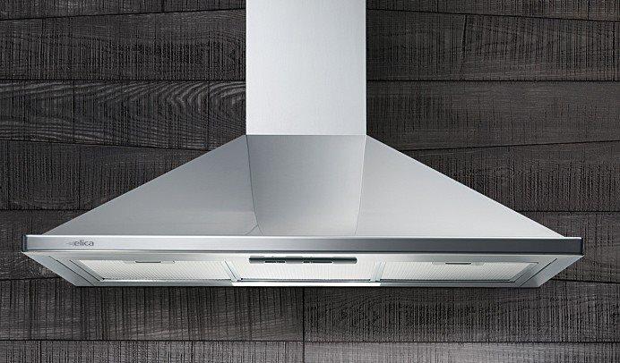 Cappa elica nikita ix f 90 40110299a cappa cucina 90 cm filtrante a parete in offerta su - Cappa filtrante cucina ...