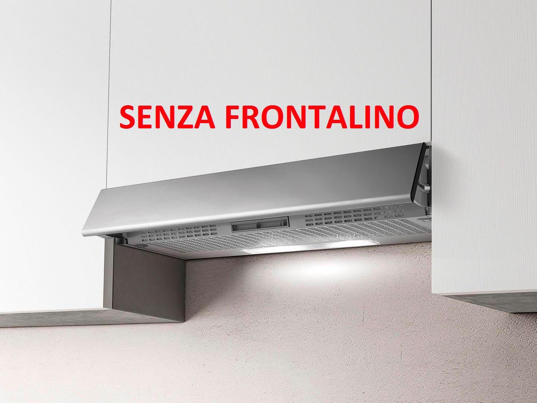 Cappa Cucina Filtrante Sottopensile da Incasso Larghezza 60 cm SENZA  FRONTALINO colore Silver - PRF0154623 ESTRAIBILE GR/F/60 Estraibile STD