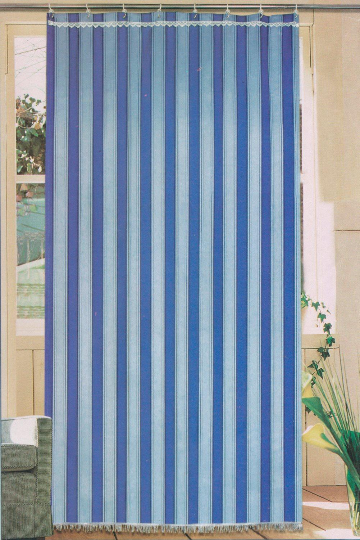 Elite tenda da sole per esterno ed interno 100 poliestere con ganci e anelli 140x300 cm colore - Tende da esterno ad anelli ...