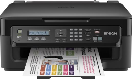 Epson WorkForce WF-2510WF Stampante Multifunzione Inkjet 5760x1400 dpi