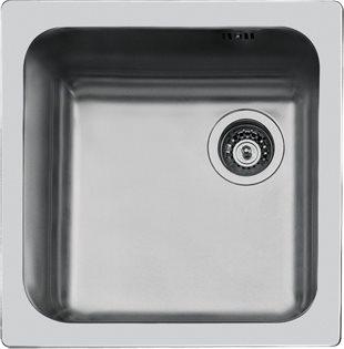 FOSTER Lavello Cucina 1 Vasca Incasso Larghezza 45,4 cm materiale ...