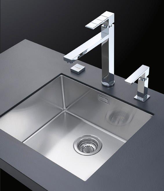 FOSTER Lavello Cucina Sottotop 1 Vasca Larghezza 40,6 cm materiale ...