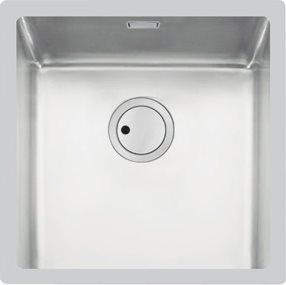 Lavello Cucina 1 Vasca Incasso Larghezza 45 cm materiale Acciaio Inox  finitura Spazzolata - 3126 060 Serie S4001