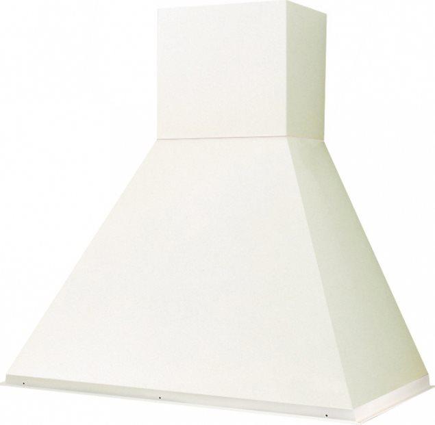 Faber cappa cucina aspirante a parete larghezza 60 cm senza trave in legno colore bianco 321 - Cappa cucina 60 cm ...