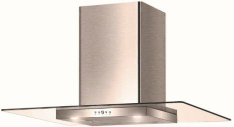 Cappa Cucina Aspirante a Parete Larghezza 90 cm Profondità 36 cm colore  Inox - 325.0568.803 TGL X A90 2LS