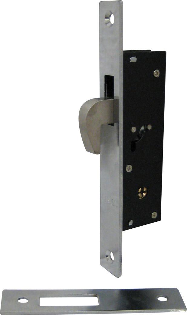 Fiam Serratura Porta Alluminio da Infilare 20 mm Scatola 36,2x104 mm 3041420