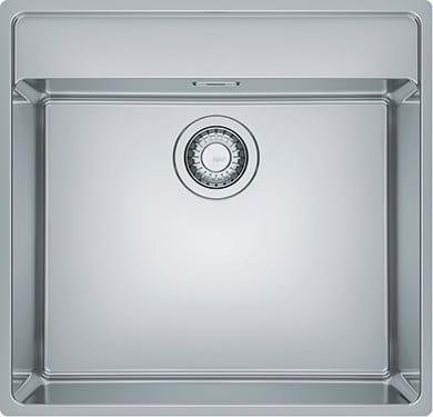 Lavello Cucina 1 Vasca da Incasso Larghezza 50 cm materiale Acciaio Inox  finitura Satinato - 127.0525.273 Maris MRX 210-50 TL