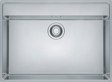 Lavello Cucina 1 Vasca da Incasso Larghezza 73 cm materiale Acciaio Inox  finitura Satinato - 127.0525.286 Maris MRX 210-70 TL