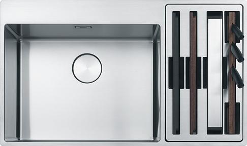 Franke Lavello Cucina Incasso 1 Vasca e 1/2 Larghezza 86 cm ...