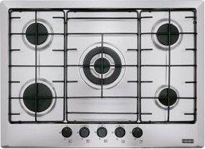 Franke Piano cottura 5 Fuochi a gas da incasso (1 Bruciatore ...