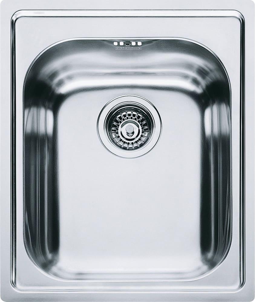 Lavello Cucina 1 Vasca Incasso Larghezza 42 cm materiale Acciaio Inox  finitura Satinato - 8584050 - AMX 610 Serie Armonia