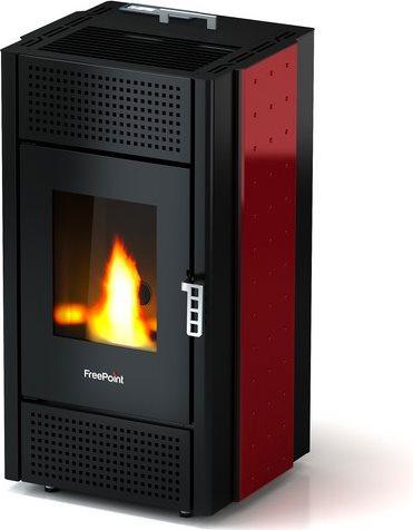 Freepoint stufa a pellet senza canna fumaria 8 kw capacit for Freepoint pretty
