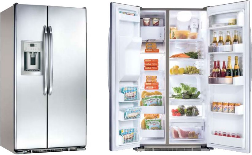 frigorifero general electric frigo americano side by side