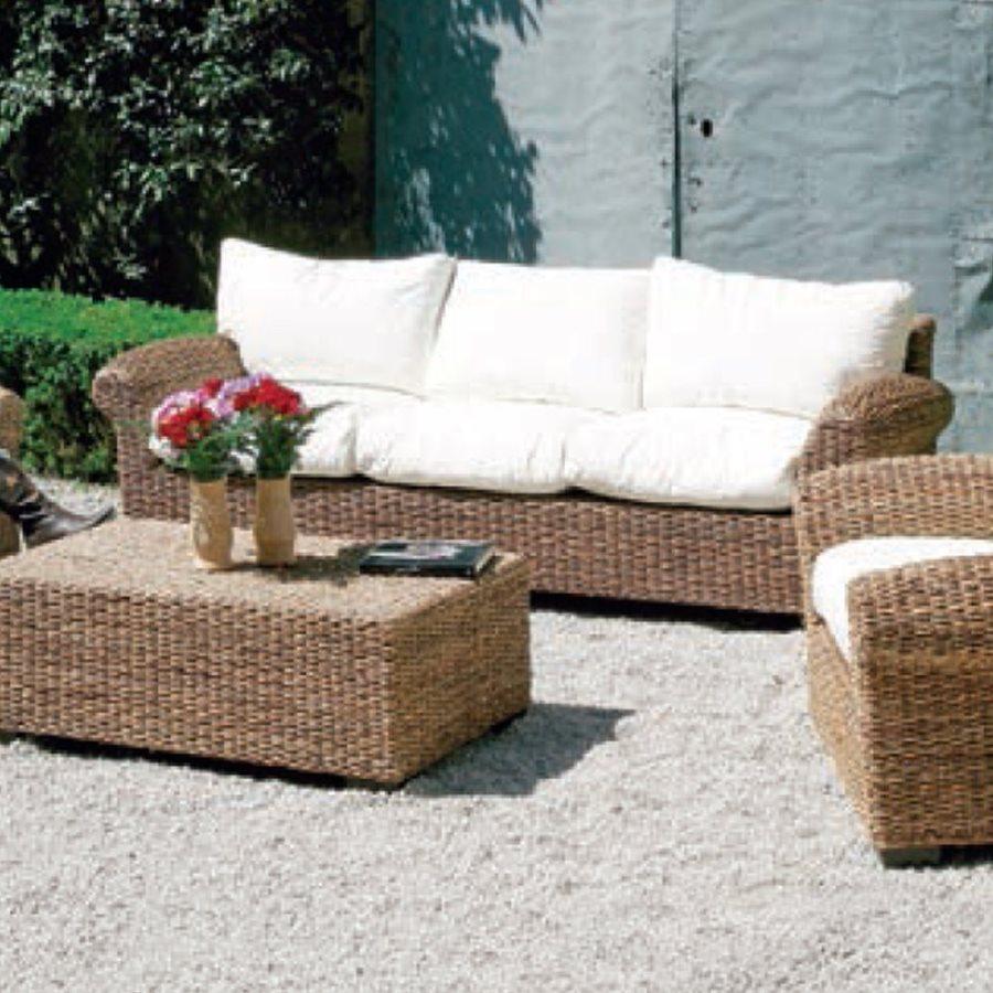 Divano 3 posti giardini del re divano luna arredo giardino e mobili da giardino prezzoforte - Divano da giardino ...